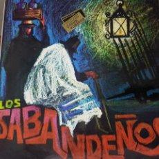 Discos de vinilo: LOS SABANDEÑOS - FONOGUANCHE Y TAM TAM RARO EP 1967 - CANARIAS FOLKLORE. Lote 195112698