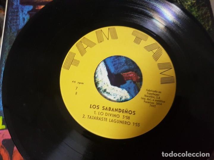 Discos de vinilo: Los Sabandeños - Fonoguanche y Tam Tam Raro Ep 1967 - Canarias Folklore - Foto 3 - 195112698