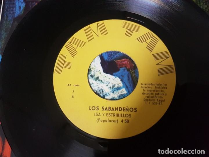 Discos de vinilo: Los Sabandeños - Fonoguanche y Tam Tam Raro Ep 1967 - Canarias Folklore - Foto 4 - 195112698