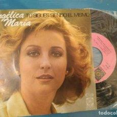 Discos de vinilo: ANGELICA MARIA / TU SIGUES SIENDO EL MISMO / ME GUSTA ESTAR CONTIGO (SINGLE 1978). Lote 195112860