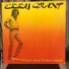 Discos de vinilo: EDDY GRANT – WALKING ON SUNSHINE 1978. Lote 195113116