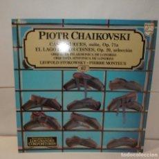 Discos de vinilo: PIOTR CHAIKOVSKI CASCANUECES, EL LAGO DE LOS CISNES LP 1982 (67). Lote 195113117