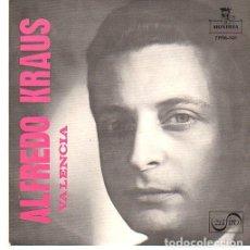 Discos de vinilo: ALFREDO KRAUS - VALENCIA: (VALENCIA - LOS GAVILANES - AMAPOLA - LA PÍCARA MOLINERA) EP SPAIN 1959. Lote 195113811