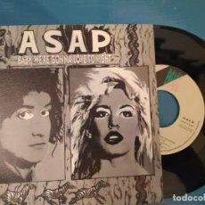 Discos de vinilo: ASAP - BABY, WE´RE GONNA LOVE TONIGHT PROMO. Lote 195114107