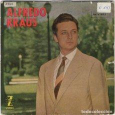 Discos de vinilo: ALFREDO KRAUS - GRANADA, PRINCESITA, AY AY AY, ESTRELLITA - EP ZAFIRO 1959. Lote 195115985