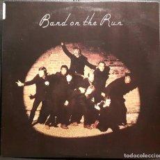 Discos de vinilo: PAUL MCCARTNEY - WINGS - BEATLES - BAND ON THE RUN - LP - USA - REEDICION - 1982 - NO CORREOS. Lote 195116343