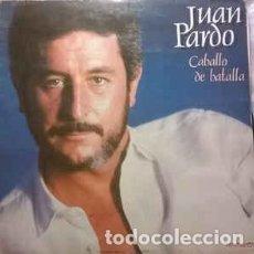 Discos de vinilo: JUAN PARDO - CABALLO DE BATALLA - DOBLE LP HISPAVOX 1983. Lote 195116471
