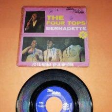 Discos de vinilo: THE FOUR TOPS. BERNADETTE. TAMLA MOTOWN RECORDS 1967 . Lote 195117730