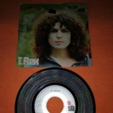 Discos de vinilo: T. REX. GET IT ON . RAW RAMP. ARIOLA RECORDS. 1971 . Lote 195118660