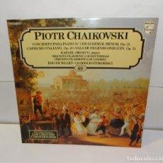 Discos de vinilo: PIOTR CHAIKOVSKI. EDO DE WAART. RAFAEL OROZCO. LP 1982 - (69). Lote 195119000