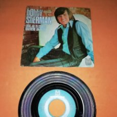 Discos de vinilo: BOBBY SHERMAN. JULIE DO YA LOVE ME. METROMEDIA RECORDS. 1970 . Lote 195119211