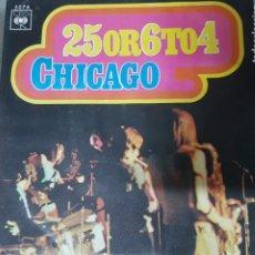 Discos de vinilo: CHICAGO - 25 O 6 A 4 - POP ROCK - EDICIÓN ESPAÑOLA 1970 BUEN ESTADO. Lote 195119635