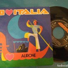 Discos de vinilo: ALIRONE - YO AMO ITALIA - 7 SINGLE - AÑO 1986. Lote 195119941