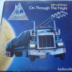Discos de vinilo: DEF LEPPARD ON THROUGH THE NIGHT . Lote 195120485