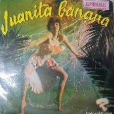 Discos de vinilo: LOS MATECOCO - JUANITA BANANA - CON PEGATINA SUPERVENTAS - EDICIÓN ESPAÑOLA 1966 - BUEN ESTADO. Lote 195121907