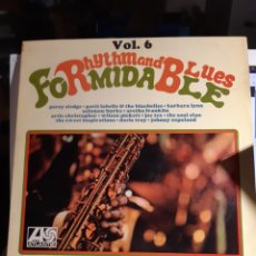 Discos de vinilo: FORMIDABLE RHYTHM AND BLUES VOL 6-7. Lote 195124518