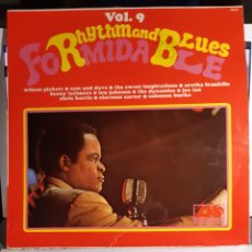 Discos de vinilo: FORMIDABLE RHYTHM AND BLUES VOL 9. Lote 195125941