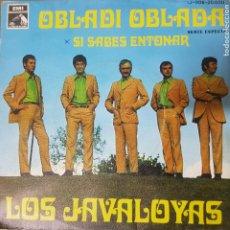 Discos de vinilo: LOS JAVALOYAS - OB LA DI OB LA DA - COVER BEATLES - EDICIÓN ESPAÑOLA 1968 BUEN ESTADO. Lote 195128672