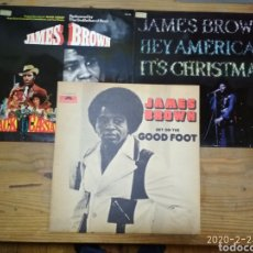 Discos de vinilo: JAMES BROWN 4 LP. Lote 195129816