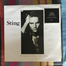 Discos de vinilo: STING ...NOTHING LIKE THE SUN - LP DOBLE A&M SPAIN 1987 - CÍRCULO DE LECTORES. Lote 195130133