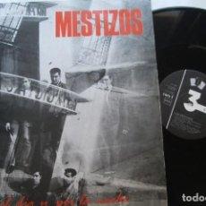 Discos de vinilo: MESTIZOS - POR EL DIA Y POR LA NOCHE . LP.. Lote 195131353