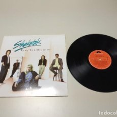 Discos de vinilo: 0220- SHAKATAK TURN THE MUSIC UP 1989 ESPAÑA LP VIN POR VG ++ DIS NM . Lote 195131423