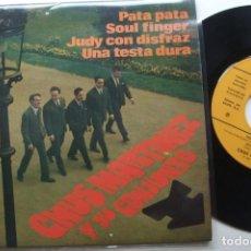 Discos de vinilo: CHUS MARTINEZ Y SU CONJUNTO - PATA PATA . EP. 1968. Lote 195132976