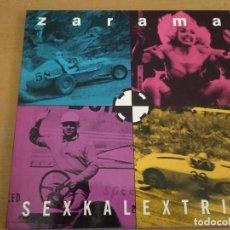 Discos de vinilo: ZARAMA SEXKALEXTRIK LP 1991 GATEFOLD. Lote 195133257
