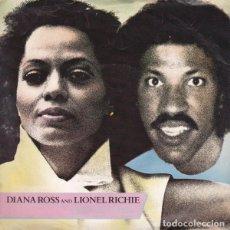 Discos de vinilo: LIONEL RICHIE & DIANA ROSS – ENDLESS LOVE - SINGLE UK 1981. Lote 195137141