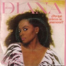 Discos de vinilo: DIANA ROSS - WHY DO FOOLS FALL IN LOVE - SINGLE SPAIN 1981. Lote 195137273