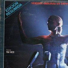 Discos de vinilo: EVITA - VERSIÓN ORIGINAL EN ESPAÑOL (EDICIÓN RESUMIDA) - PALOMA SAN BASILIO - LP SPAIN 1981. Lote 195137906