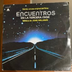 Discos de vinilo: JOHN WILLIAMS CLOSE ENCOUNTERS OF THE THIRD KIND. BSO. DISCO VINILO. ENTREGA 24H. Lote 195140812