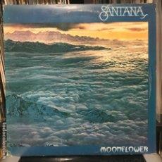 Discos de vinilo: SANTANA – MOONFLOWER 1977 GAT 2LP. Lote 195142075