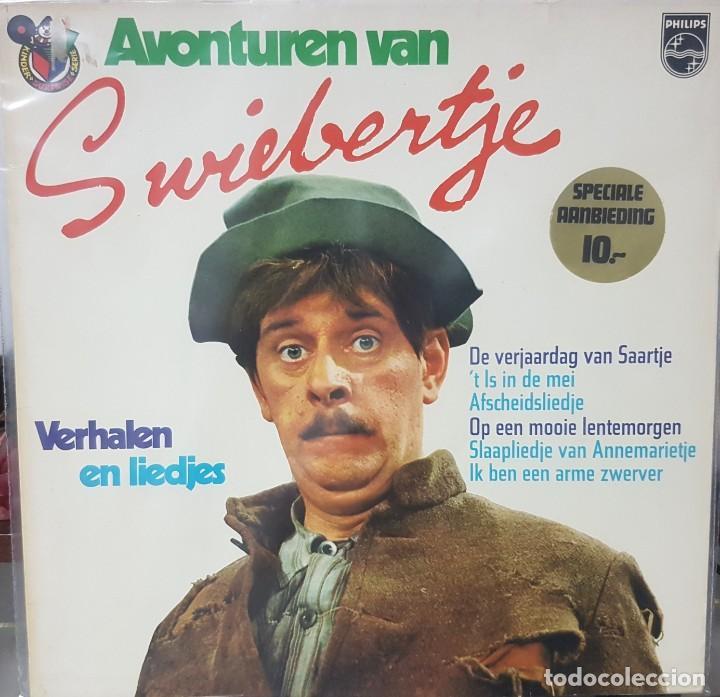 Discos de vinilo: Lote de 2 Lps de Cuentos infantiles - Holanda - Avonturen van Swiebertje y otro - 1965 y 1969 - Foto 2 - 195144592