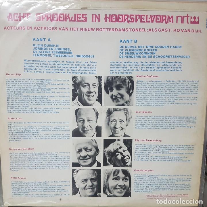 Discos de vinilo: Lote de 2 Lps de Cuentos infantiles - Holanda - Avonturen van Swiebertje y otro - 1965 y 1969 - Foto 5 - 195144592