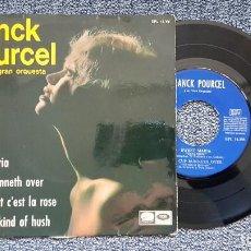 Discos de vinilo: FRANCK POURCEL - EP (4 CANCIONES) SWEET MARÍA, ETC. EDITADO POR LA VOZ DE SU AMO. AÑO 1.967. Lote 195144665