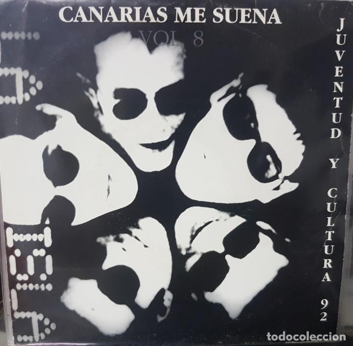 LA ISLA - CANARIAS ME SUENA VOL 8 JUVENTUD CULTURA 92 - POP ROCK (Música - Discos - Singles Vinilo - Grupos Españoles de los 90 a la actualidad)