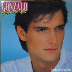 Discos de vinilo: GONZALO, GIGANTE DE PAPEL, LP SPAIN 1986. Lote 195148872