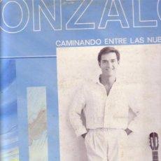 Discos de vinilo: GONZALO, CAMINANDO ENTRE LAS NUBES - LP HISPAVOX 1984. Lote 195149063