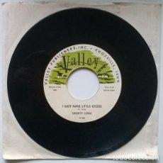 Discos de vinilo: SHORTY LONG. VACATION ROCK/ I GOT NINE LITTLE KISSES. VALLEY, USA 1956 RE SINGLE. Lote 195149245
