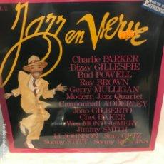 Discos de vinilo: JAZZ EN VERVE VOL. 2 1987 BOP, BOSSA NOVA, COOL JAZZ, SOUL-JAZZ. Lote 195150952