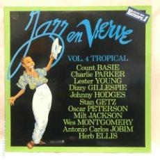 Discos de vinilo: JAZZ EN VERVE VOL. 4 TROPICAL 1988. Lote 195151010
