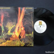 Discos de vinilo: ECHO AND THE BUNNYMEN ‎– CROCODILES – VINILO 1984. Lote 195151405