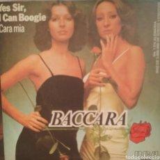 Discos de vinilo: BACCARA. SINGLE. SELLO RCA VÍCTOR. EDITADO EN ESPAÑA. AÑO 1977. Lote 195151686
