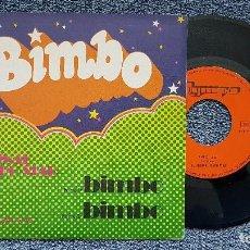 Discos de vinilo: THE ORIGINAL BIMBO STAR - BIMBO 1 PARTE / BIMBO 2 PARTE. EDITADO POR OLYMPO. AÑO 1.975. Lote 195152065