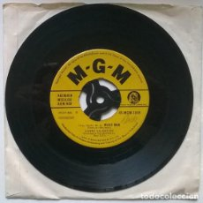 Discos de vinilo: DANNY VALENTINO. STAMPEDE/ MUSIC MAN. MGM, UK 1959 SINGLE. Lote 195152261
