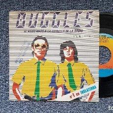 Discos de vinilo: THE BUGGLES - EL VÍDEO MATÓ A LA ESTRELLA DE LA RADIO / KID DYNAME. PROMOCIONAL.AÑO. 1.979. ARIOLA. Lote 195152420