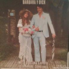 Discos de vinilo: BÁRBARA Y DICK. SINGLE PROMOCIONAL. SELLO RCA VÍCTOR. EDITADO EN ESPAÑA. AÑO 1979. Lote 195152430
