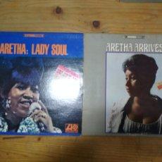 Discos de vinilo: AREATHA FRANKLIN SOUL 2 LP. Lote 195152647