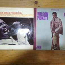 Discos de vinilo: WILSON PICKETT. SOUL R&B. 2 LP.. Lote 195152888